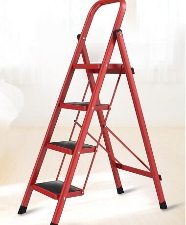 奧鵬梯子家用摺疊人字梯室內加厚三四步登高樓梯小扶梯多功能爬梯 科炫數位