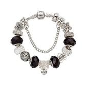串珠手鍊-水晶飾品歐美復古精緻閃亮女配件73kc261【時尚巴黎】