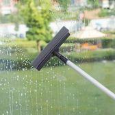 擦玻璃器家用伸縮桿雙面擦窗器刮玻璃的清潔工具地面刮水器搽高樓WY 雙11購物節