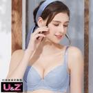 U&Z-構想幸福 美背款B-F罩內衣(迷霧紫)
