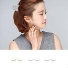 耳環 排列 鑲鑽 亮眼 氣質 耳環【DD96625】 BOBI  05/04
