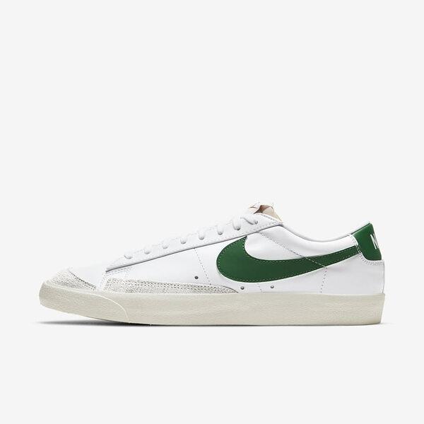Nike Blazer Low 77 Vntg [DA6364-115] 男鞋 運動 休閒 經典 復古 穿搭 白 綠