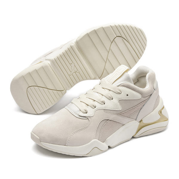 Puma Nova Pastel 女 米白 運動鞋 復古運動鞋 麂皮 休閒 厚底 彈性 休閒鞋 36948701 | 休閒鞋 |
