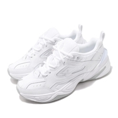 Nike M2K Tekno 白 全白 Dad Shoes 復古 老爸鞋 皮革 男鞋 運動鞋【PUMP306】 AV4789-101