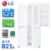 (含拆箱定位)LG 樂金821公升WiFi門中門對開冰箱 GR-DL88W