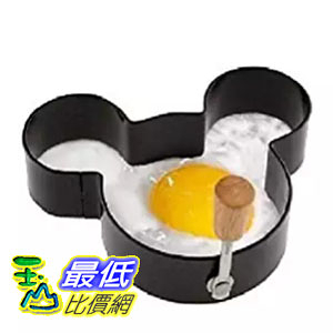 [美國直購] Disney B004030V2K 米奇 米老鼠 煎蛋模具 Parks Exclusive Non-Stick Mickey Mouse Egg Ring