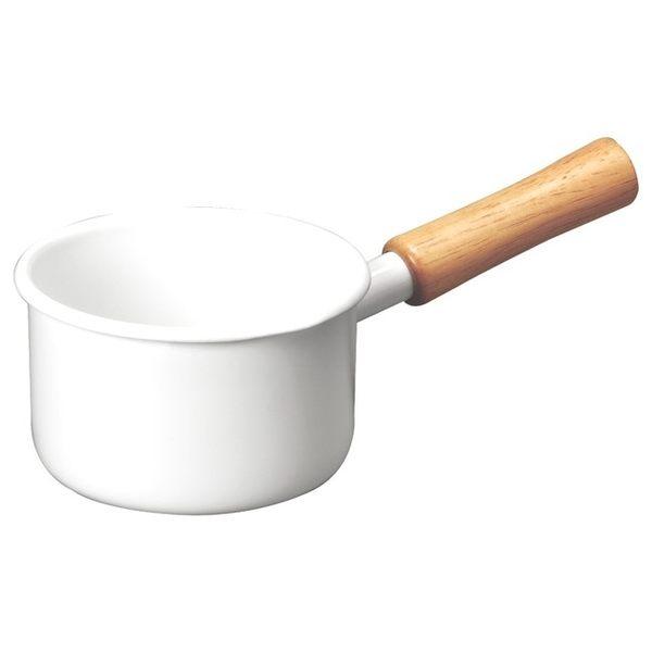 HOLA 琺瑯單柄牛奶鍋 12cm 0.5L