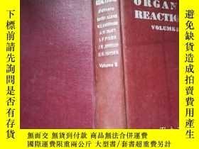 二手書博民逛書店Organic罕見Reactions VOLUME IIY182