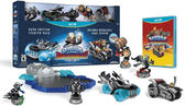 WiiU Skylanders SuperChargers Starter Pack (Dark Edition with Stealth Elf)  寶貝龍冒險(美版代購)