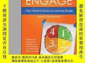 二手書博民逛書店Engage:罕見The Trainer s Guide to Learning StylesY410016