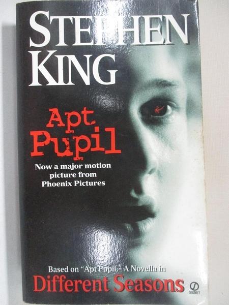 【書寶二手書T6/原文小說_AT1】Different Seasons_King, Stephen