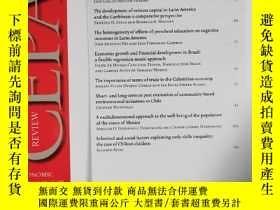 二手書博民逛書店REVIEW罕見CEPAL 2019年8月 英文版Y42402