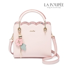 手提包 清新花語浪漫花朵吊飾方包 3色-La Poupee樂芙比質感包飾 (現貨+預購)