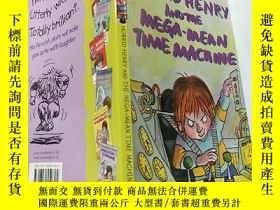 二手書博民逛書店horrid罕見henry and the mega mean time machine :可怕的亨利和超級 機