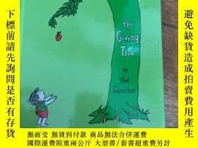 二手書博民逛書店the罕見giving tree 愛心樹 英文版Y299833