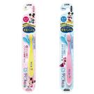 日本 LION 米奇彈力可彎曲兒童牙刷 (0~5歲) (顏色隨機出貨)