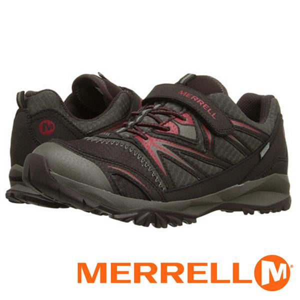 【美國 MERRELL】BOYS CAPRA BOLT 童 防水健行鞋 棕色 56199 健行鞋│機能鞋│休閒鞋│登山│戶外