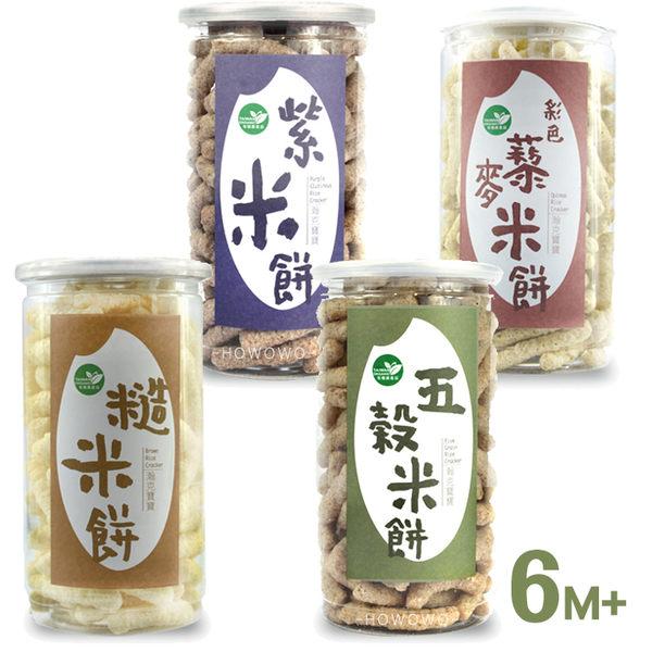 瀚克寶寶 有機米餅 副食品 嬰兒餅乾 五穀 / 紫米 / 糙米 / 藜麥 9522 好娃娃