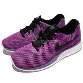 【六折特賣】Nike 休閒鞋 Wmns Tanjun Racer 紫 黑 舒適泡棉鞋底 運動鞋 女鞋【PUMP306】 921668-006