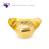 【元大珠寶】『納福金元寶』黃金元寶 重約1.00錢 純金9999*投資 收藏 保值 送禮 彌月*