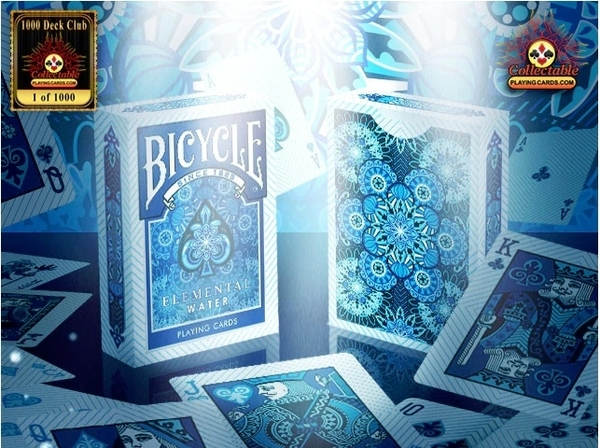 【USPCC 撲克】BICYCLE ELEMENTAL WATER DECK 水元素