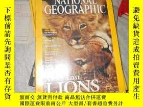 二手書博民逛書店NATIONAL罕見GEOGRAPHIC(JUNE 2001(美