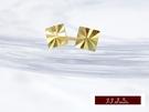 585K(14K)金 義大利進口  黃K金 耳環 耳釘