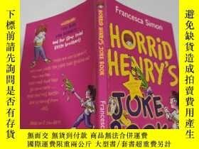 二手書博民逛書店horrid罕見henry s joke book 可怕的亨利的笑話書.,Y200392