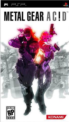 PSP Metal Gear Acid 潛龍諜影ACID(美版代購)
