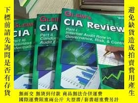 二手書博民逛書店GLEIM 罕見S CIA REVIEW:Part I Inte