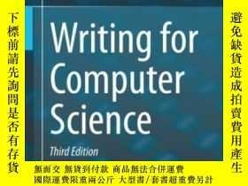 二手書博民逛書店Writing罕見For Computer ScienceY25