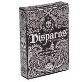 【USPCC 撲克】撲克牌 銀黑 DISPAROS TEQUILA BLACK PLAYING CARDS