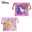 【日本正版】迪士尼公主 束口袋 收納袋 抽繩束口袋 小物收納 小美人魚 長髮公主 Disney 257569 257576