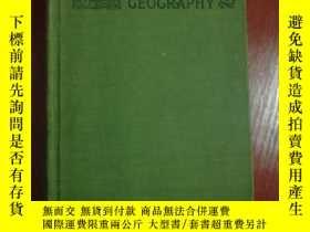 二手書博民逛書店COMMERCIAL罕見GEOGRAPHY 經濟地理學 1918年外文原版 多圖 by Cyrus C. Adam
