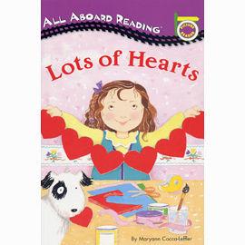 【汪培珽書單】〈All Aboard Reading系列:Picture Reader 〉LOTS OF HEARTS