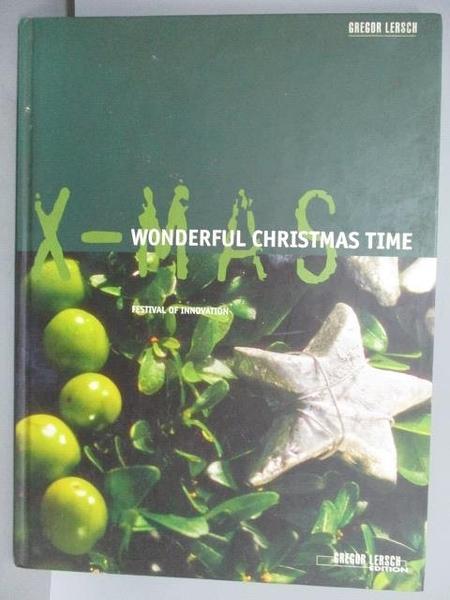 【書寶二手書T9/園藝_FMW】X-mas Wonderful Christmas Time
