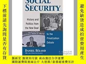 二手書博民逛書店Social罕見Security: History And Po