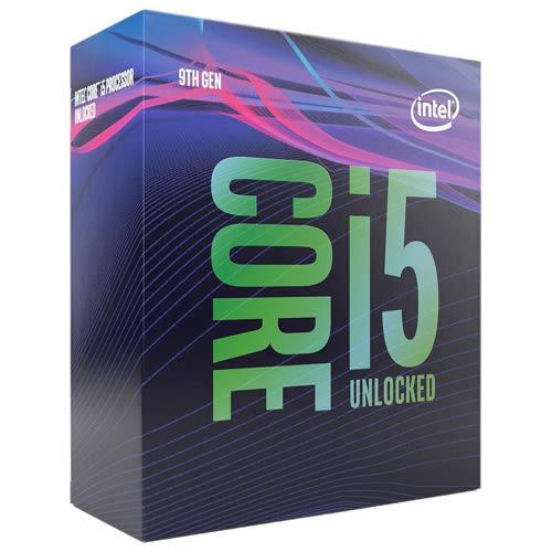 (不含CPU散熱器) Intel Core i5-9600K 6核心6執行緒 1151 腳位 CPU 中央處理器