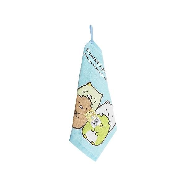角落小夥伴印花擦掛巾(33x34cm)1入【小三美日】擦手巾/顏色隨機出貨