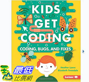 [106美國暢銷兒童軟體] Algorithms and Bugs (Kids Get Coding)