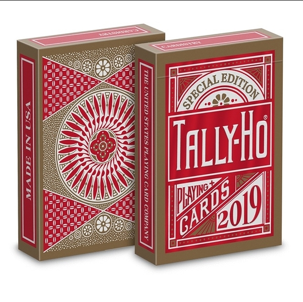 【USPCC撲克】Custom EX Tally-Ho Special Edition CNY S103049584