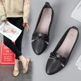 牛津鞋牛津軟底單鞋春秋季新款女鞋子韓版潮時尚學生淺口圓頭低筒鞋新品