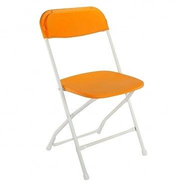 icandy耐衝擊折疊椅-橘色