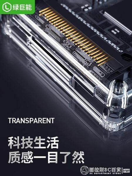 綠巨能讀卡器多合一3.0高速SD/TF/MS/CF卡萬能手機電腦兩用多功能   (圖拉斯)