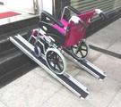 斜坡板/鋁輪椅梯-輪椅爬梯專用斜坡板15...