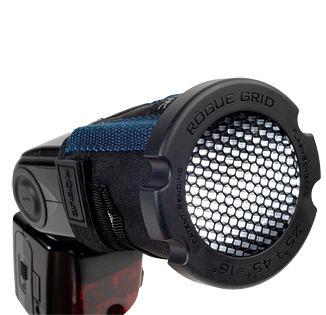 呈現攝影-Rogue 美國樂客 LF-4005 三合一蜂巢罩 閃光燈 通用型 蜂巢聚光 SB910 可配LF-4006用