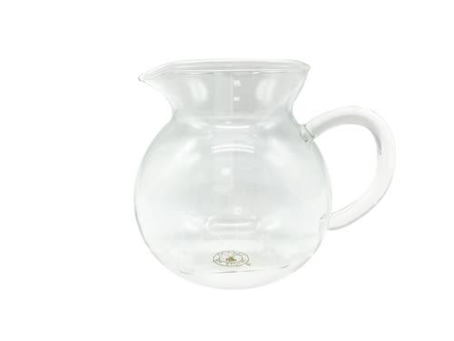 【好市吉居家生活】好友牌 TS-801 高耐熱蛋型玻璃茶海 玻璃茶壺 耐熱玻璃水壺 花茶壺