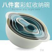 洗水果盤創意家用菜籃淘菜盆洗菜盆瀝水籃廚房量匙量杯帶刻度塑膠 享購