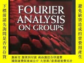 二手書博民逛書店Fourier罕見Analysis on Groups 英文原版Y15025 Rudin Dover