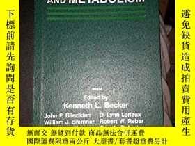 二手書博民逛書店Principles罕見and Practice of Endocrinology and Metabolism-